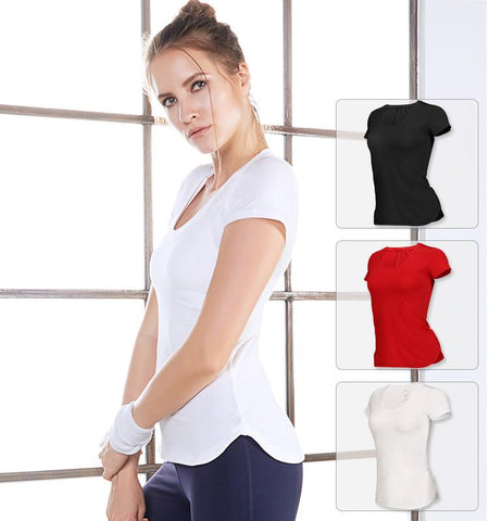 Round Neck Short Sleeves