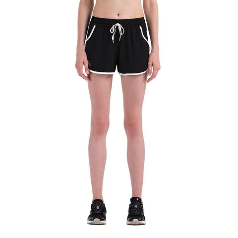 Dual-Layer with Pocket Women Shorts