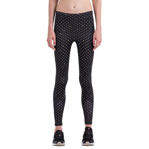 Circle Dots Compression Pants For Women