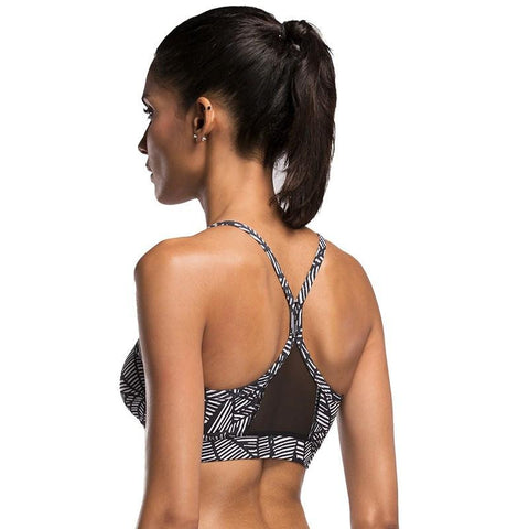 Geometry Pattern Bra