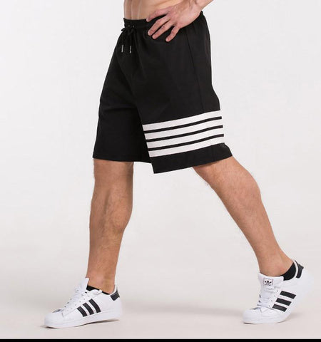One Side Strapes Shorts