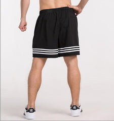 Double Side Stripes Shorts