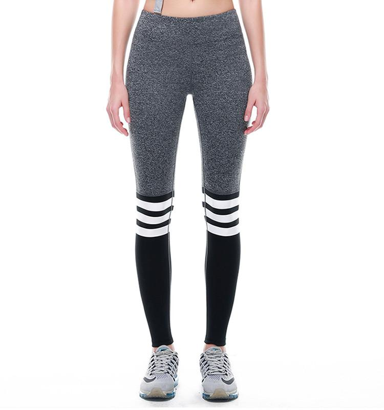 Two Color Split Leggings_gray