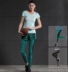 This Bosco Verticale style women's compression leggings use the breathable and quick drying fabric, will keep you cool and comfort during your exercise.