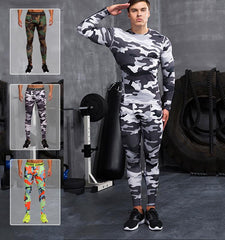 This men's compression camouflage workout leggings, your training partner with stylish printing for fabrics, provide you with medium impact and comfort. Sales channels Manage  Visible on 1 of 1 Online Store Organization Product type Vendor Collections      Cycling     Men's Bottoms     Men's Leggings     Fitness     Men's     Running     Sport  Tags View all tags      Winter     Summer     Spring     Men     Autumn