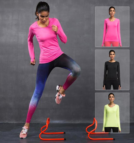 This pure color long sleeve workout shirts can make you get rid of terrible odor and muscle aches after exercise through its ultra-light and breathable fabrics.... Sales channels Manage  Visible on 1 of 1 Online Store Organization Product type Vendor Collections      Fitness     Cycling     Running     Sport     Women's Tops     Yoga     Women's Long Sleeves     Women's  Tags View all tags      Women     Winter     Autumn