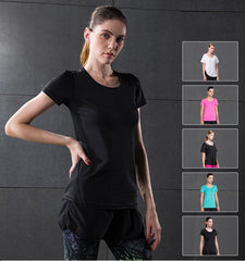This women's cheap workout compression tops can adapt to various of occasion for exercises no matter indoors or outdoors.Its good heat dissipation keep you cool...