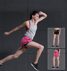 This women's gym shorts with pocket made from the ultra-light and breathable fabrics that make your process of exercise much more interesting.