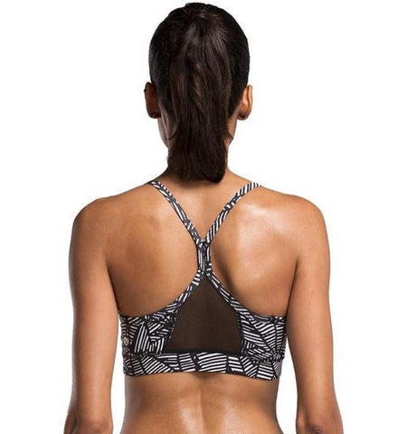 This sport bra bikini tops is moving comfort, solid support wrap with shockproof and prevent suspension ligament fracture of chest due to strenuous exercise.
