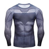 Image of Batman Compression Shirt Long Sleeves
