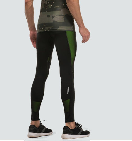 This high impact men's compression tights has a extraordinary pattern design, provide you with perfect dissipation and comfort.Your secret weapon for workout.