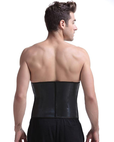 This is back of waist training for men, you can wear it to do cardio workout.