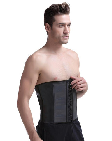 this is the waist trainer for men, you can wear it to workout, running.