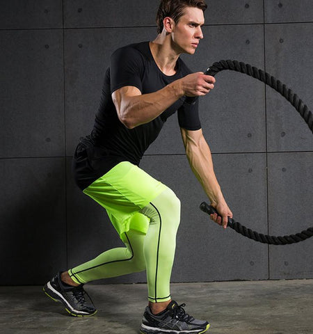 Classic Men's Compression Pants for Any Workout