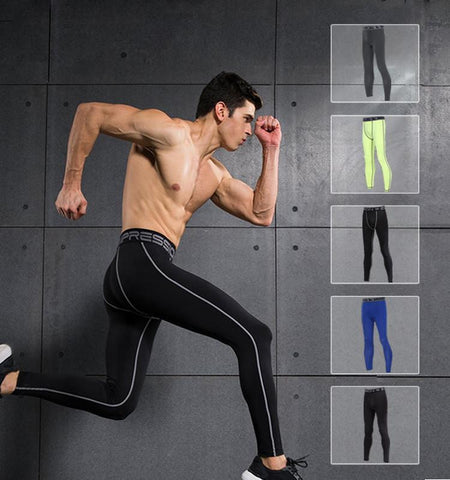 This men's compression pants with ventilation, clean cut and good heat dissipation which is adjustable for various of outdoor activities & indoor fitness.
