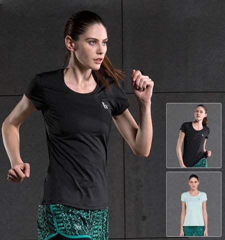 This cheap workout women's compression shirts in clean cut can be your secret weapon to enhance your performance and posture and makes you attractive!