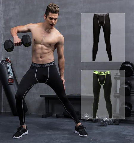 This men's sport leggings is ventilation, clean cut and good heat dissipation. It's the compression tights adjustable for various of outdoor and indoor workout.