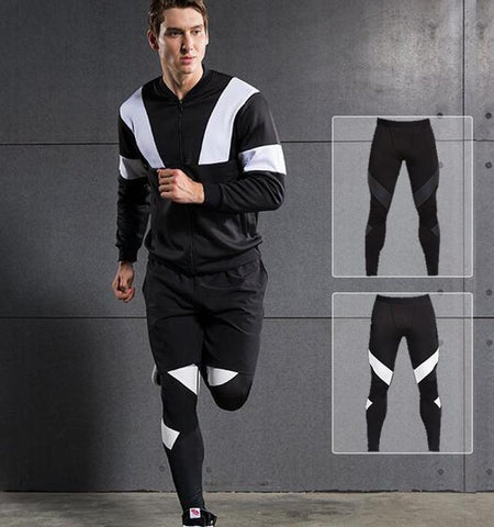 This men's sport leggings on sale provide you with perfect heat dissipation, clean cut and special pattern design which maximize the full range of movement. Sales channels Manage  Visible on 1 of 1 Online Store Organization Product type Vendor Collections      Cycling     Men's Leggings     Men's Bottoms     Fitness     Men's     Running     Sport  Tags View all tags      Winter     Summer     Spring     Men     Autumn