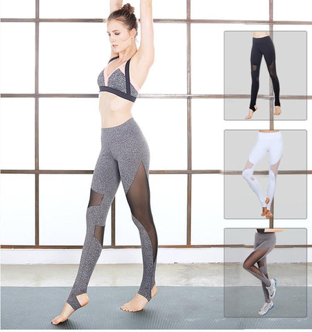 This workout leggings with mesh has such a unique sexy design that not only make you looks attractive but also provide you with good heat dissipation.