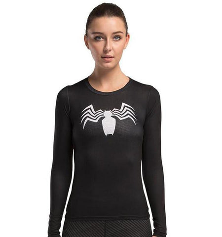 Spider Man Funny Cute Workout Clothes for Gym Training