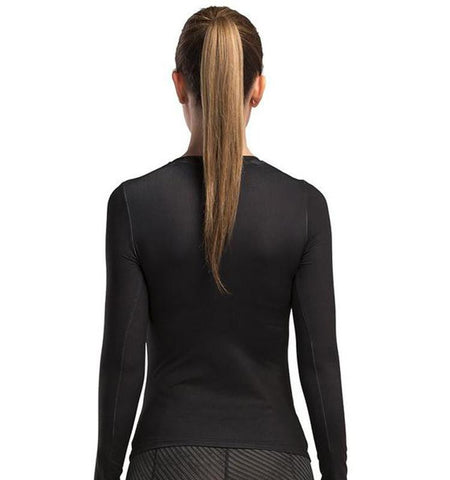 This long sleeve funny gym shirts for women is your optimal choice to do exercise.The special fabrics make your workout time no less than a beautiful journey.