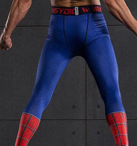 This men's compression pants provide you with not only the cool spider pattern, but also the medium impact and ventilation that can make you feel quite free.
