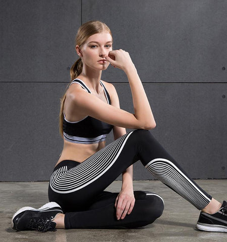 Stream Lines Style Compression Pants for Women