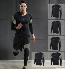 This men's compression long sleeve tops has good ventilation, heat dissipation and muscle focus which made from lightweight, breathable and moisture-wicking fab...
