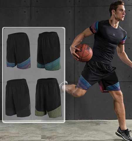 This men's gym shorts with pockets has extraordinary moisture management and ventilation can obviously improve your performance and posture.