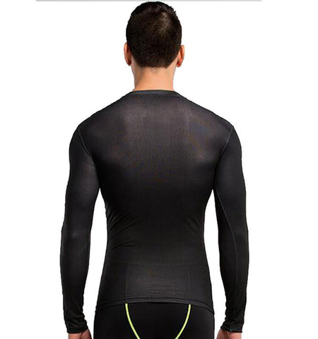 This men's V for Vendetta compression long sleeve workout shirts, good muscle focus function that can reduced muscle soreness effectively.
