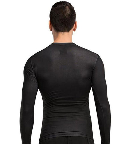 The men's Wolverine funny compression long sleeves shirts is your good partner, help you graduated compression engineered to promote maximum blood flow.