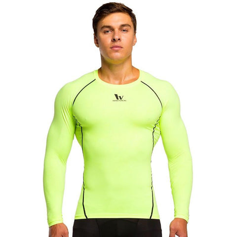 Men's Classic Long Sleeve Workout Shirts
