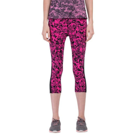 Floral Pattern 3/4 Yoga Leggings
