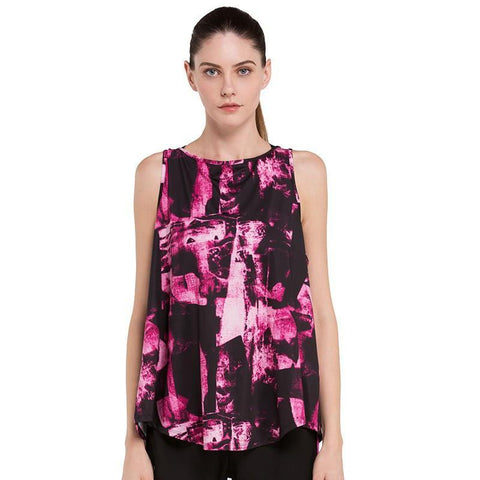Abstract Pattern Workout Tanks