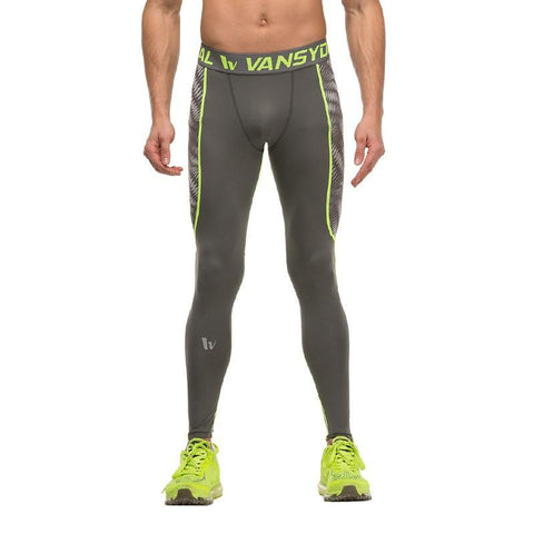 Ripple Compression Leggings For Men
