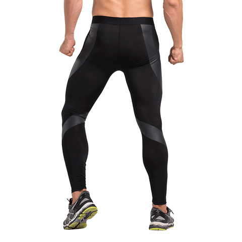 S Spliced Men Leggings