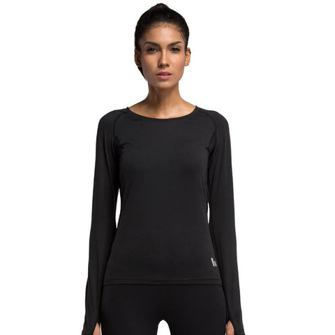 Women's Classic Long Sleeve Workout Shirts