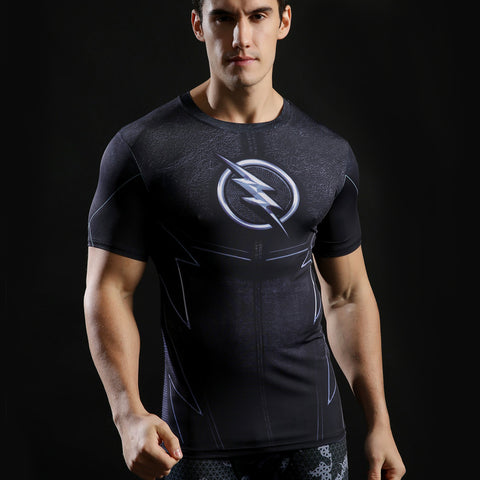 Black The Flash T Shirt
