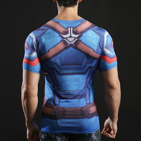 Captain America Short Sleeve