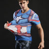 Image of Captain America Short Sleeve