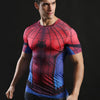 Image of Spiderman Workout T Shirt