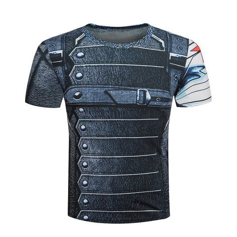 Winter Soldier Compression T Shirt