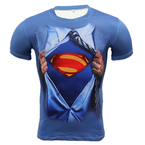 Superman Compression T-shirt