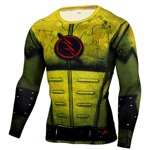 The Flash Compression Shirt Long Sleeve