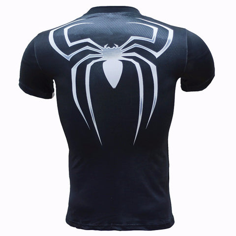 Spiderman Compression T Shirt