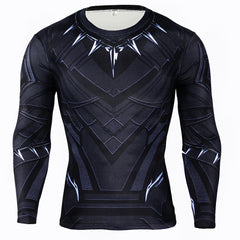 Black Panther Shirt Long Sleeves