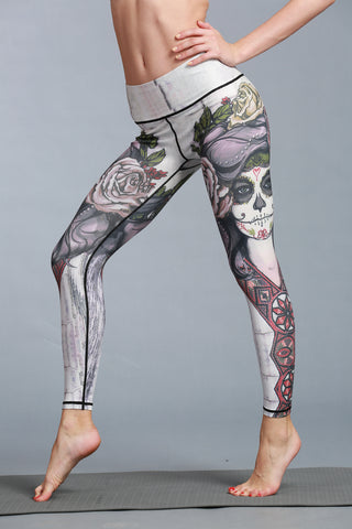 Corpse Bride Leggings