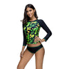 Image of Long Sleeve Space Swimsuit