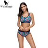 Image of Flower Three Pieces Swimsuit
