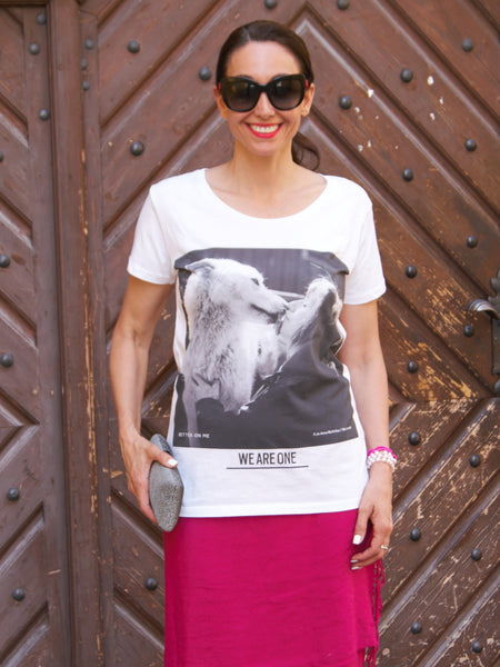 Sustainable fashion: Wolf t shirt │Pax & Shelley│